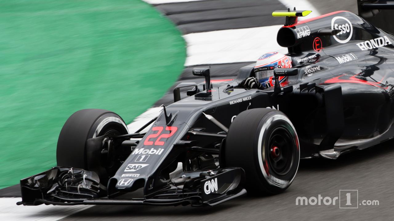 Jenson Button, McLaren MP4-31, British GP 2016