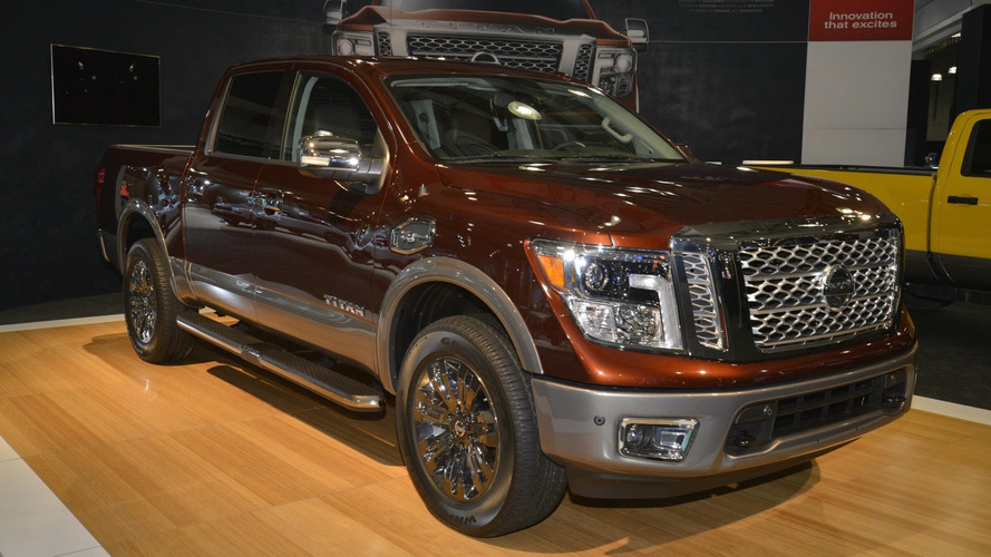 2016 Nissan Titan XD Crew Cab V8 Gas priced from $45,900