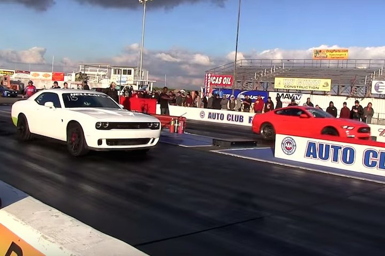 Mustang GT Supercharged Sleeper Battles the Challenger Hellcat