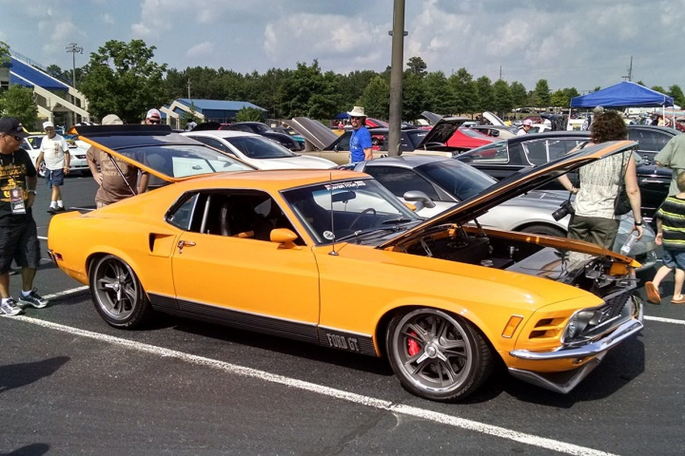 This 1970 Ford Mustang Mach 1 Transformed Into a 200 MPH Ford GT