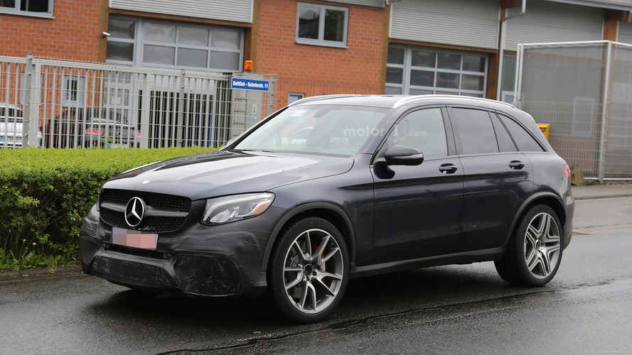 Mercedes-AMG GLC 63 hides massive front air intakes