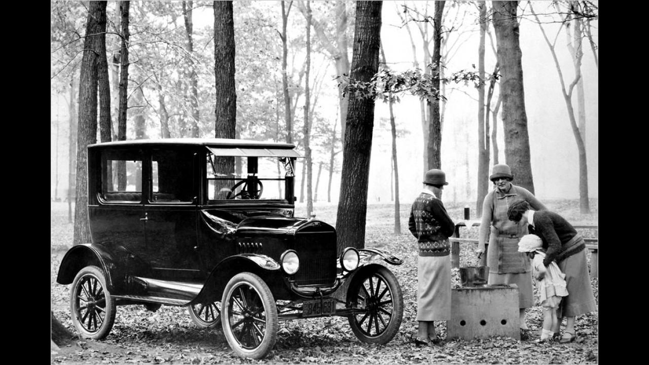 Ford T-Modell: 15 Millionen (1908 bis 1927)