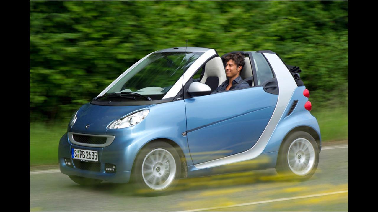 smart fortwo cabrio 0.8 cdi pure softip