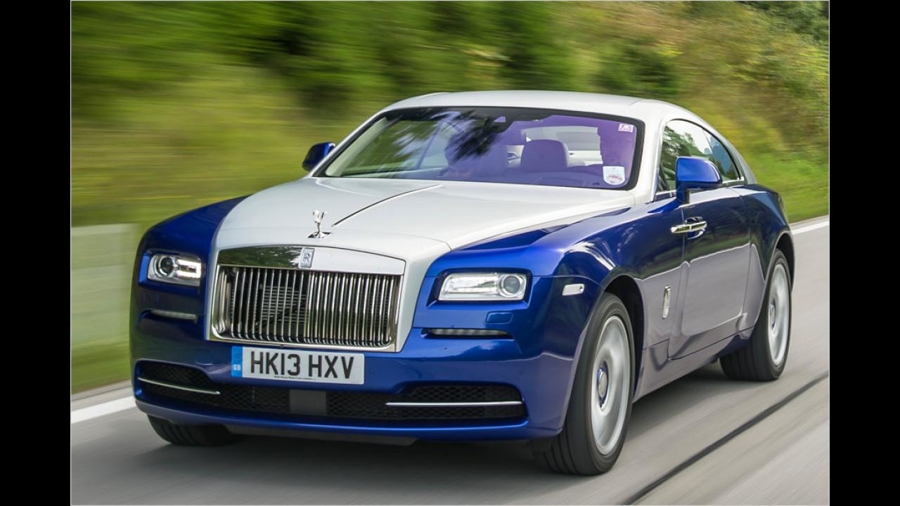 Rolls-Royce Wraith: 632 PS