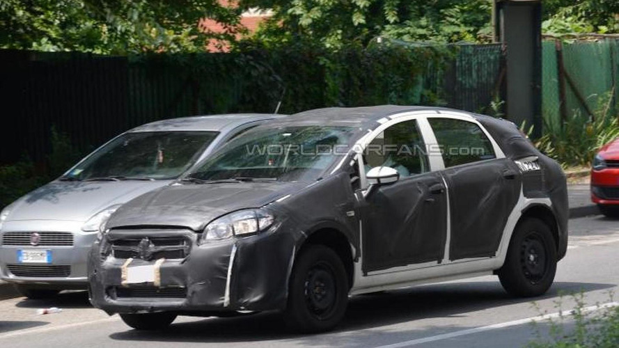 Fiat Bravo successor test mule spied in Italy