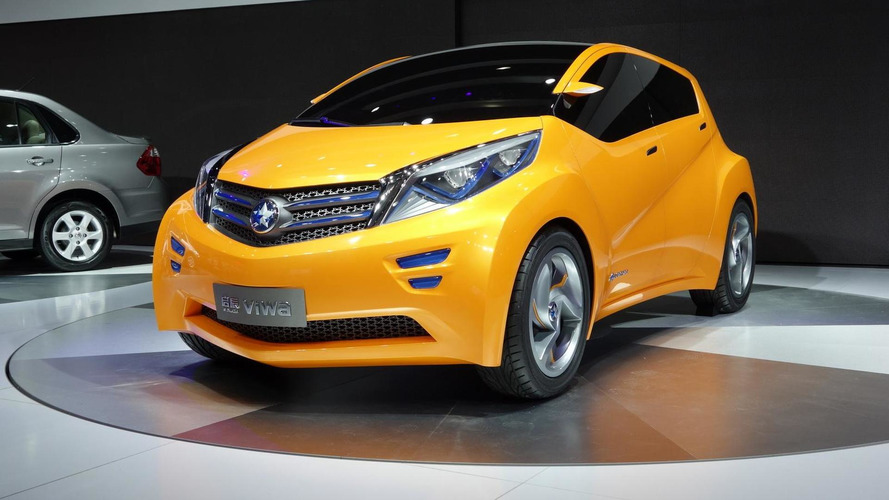 Dongfeng Nissan Viwa Concept revealed at Auto Shanghai