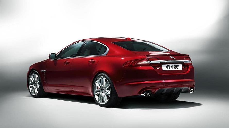 2012 Jaguar XF facelift revealed in New York