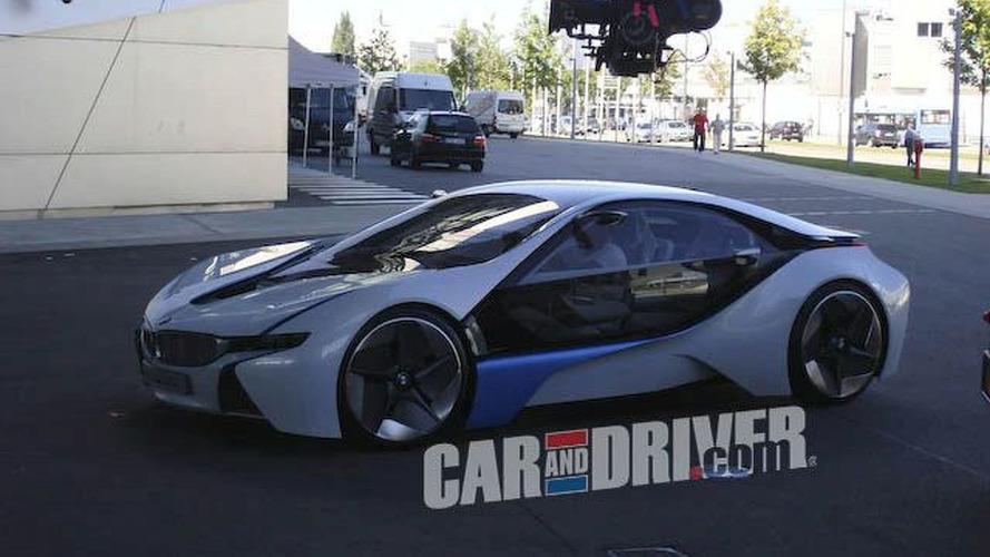 BMW Vision EfficienctDynamics Concept Spotted - new 3D animation video added