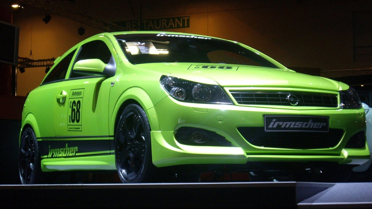 Irmscher Opel Astra GTC Turbo with LPG Drive