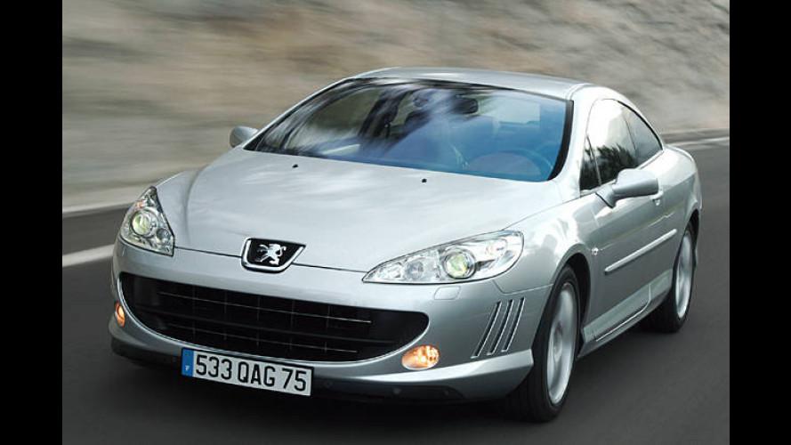 Peugeot 407 Coupé jetzt auch mit 136-PS-Diesel bestellbar