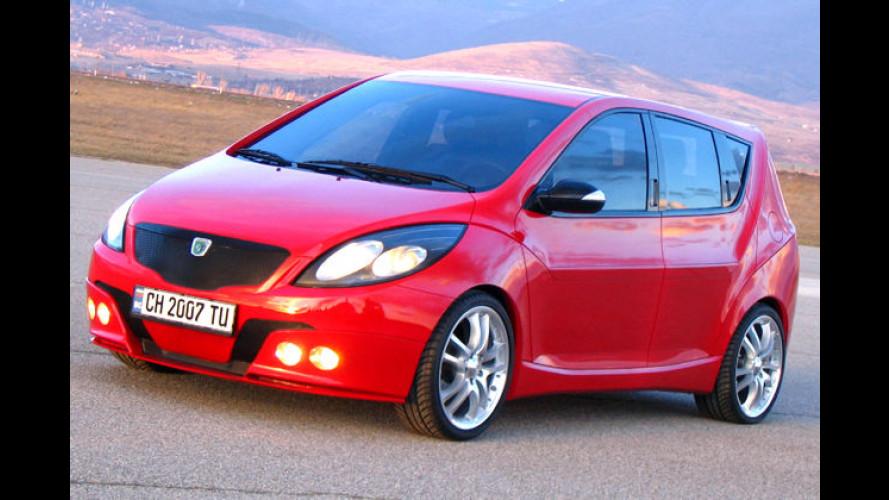 Concept-Car Universe auf den Spuren des Dacia Logan
