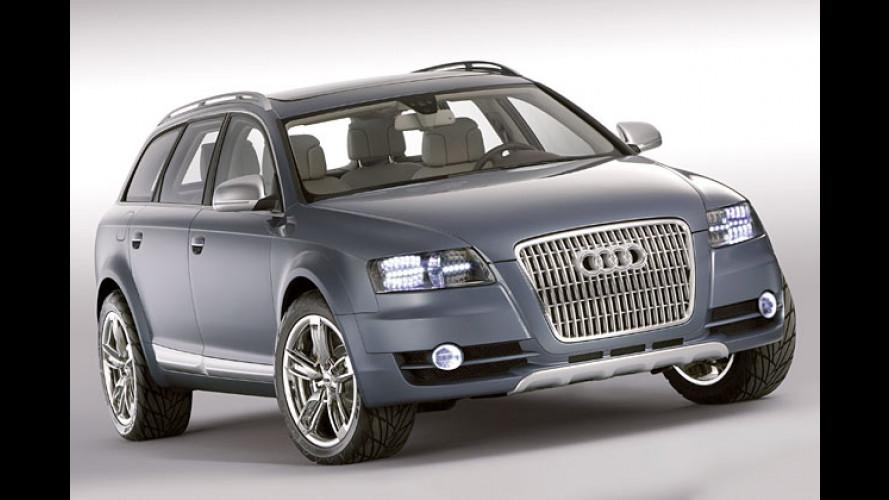 Audi allroad quattro Studie: Voll gepackt mit Ideen