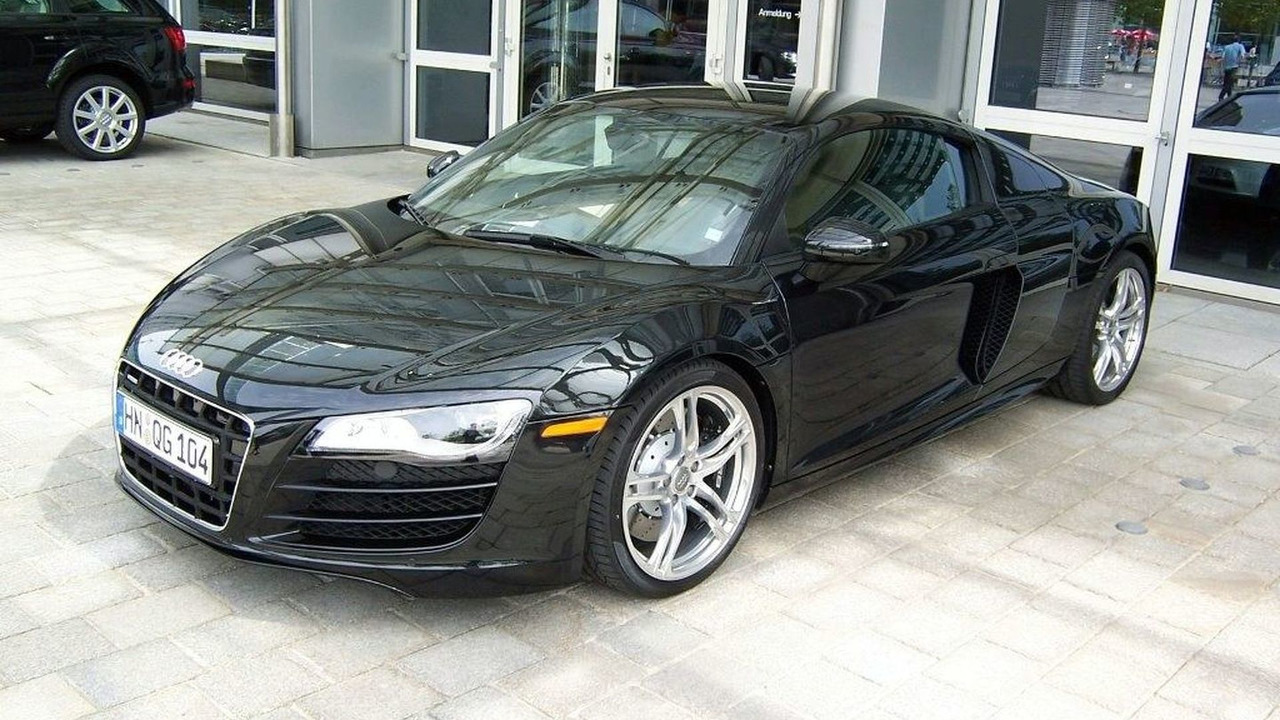 Audi R8 V10 Spotted