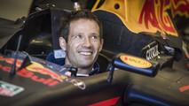 Sébastien Ogier teste une Red Bull F1
