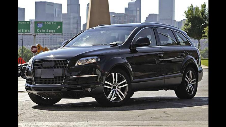 Rund um die Welt: Audi Q7 auf Erprobungsfahrt