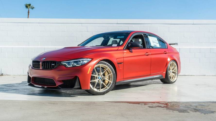 You Can Buy The One And Only BMW M3 30 Years American Edition