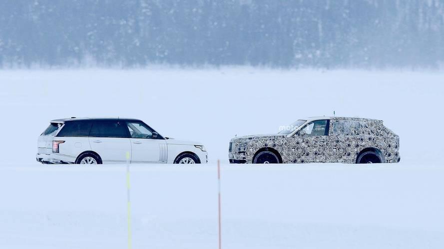 Le Rolls-Royce Cullinan rencontre le Range Rover
