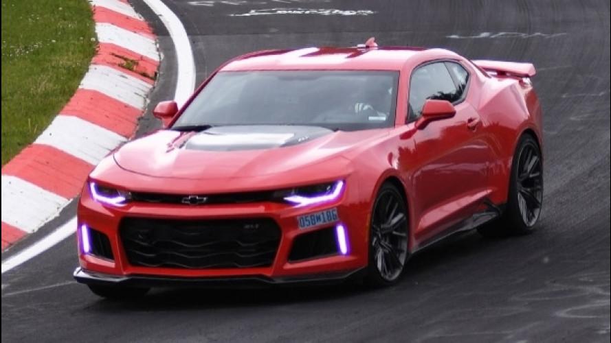 Chevrolet Camaro da record al Nurburgring [VIDEO]