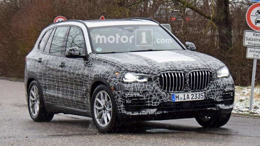 2019 bmw x5 spied testing in less camouflage. Black Bedroom Furniture Sets. Home Design Ideas