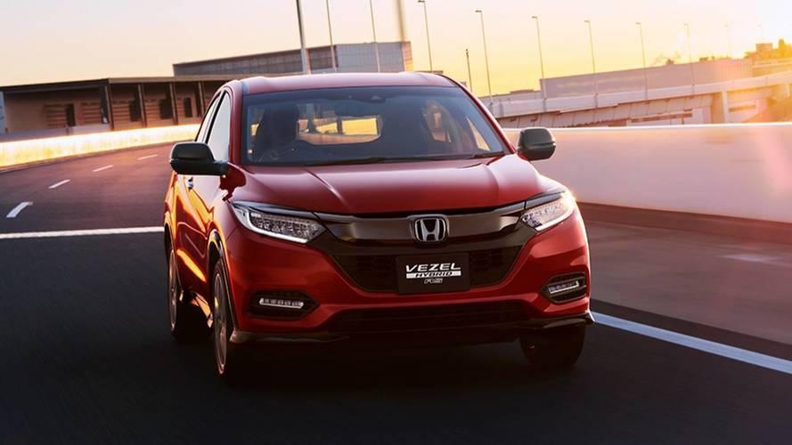 Première photo du Honda HR-V restylé