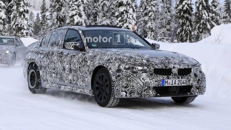 Photos espion - La future BMW Série 3 poursuit son développement
