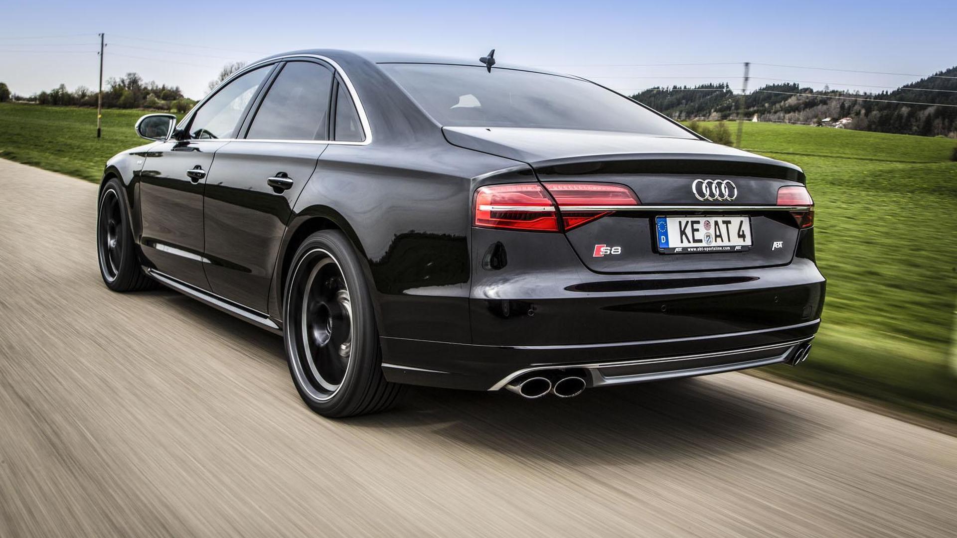 Тюнинг Audi S8 от ABT Sportsline
