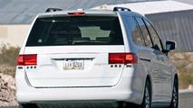 Honda Odyssey Facelift Spy Photos - Round 2