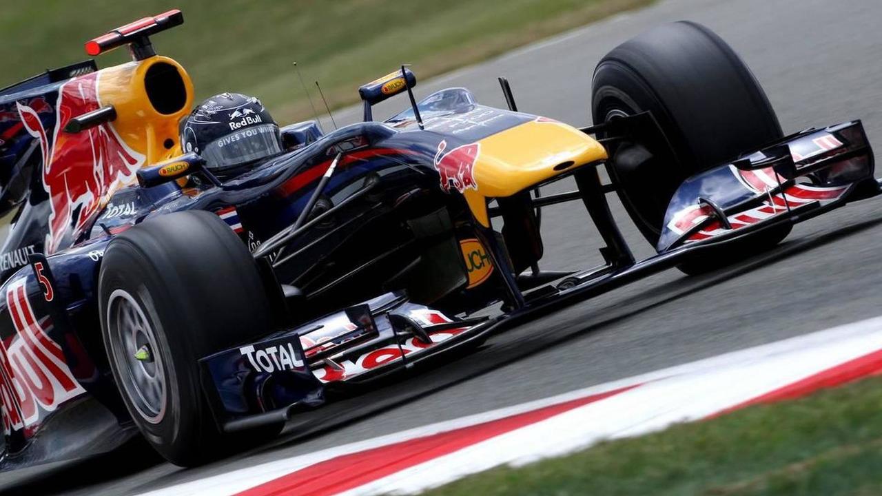 Sebastian Vettel (GER), Red Bull Racing, RB6, British Grand Prix, Saturday Qualifying, 10.07.2010 Silverstone, England