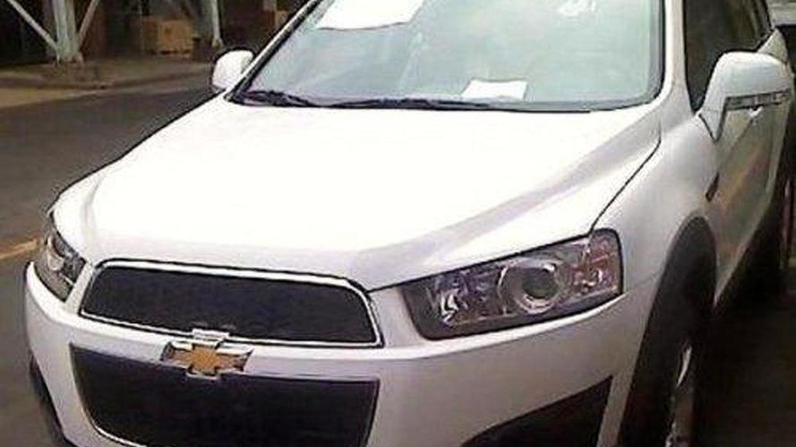 2011 Chevrolet Captiva spied