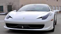 Twin-turbo Ferrari 458 Italia battles Lamborghini Aventador LP700-4 [video]