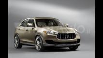 Maserati Kubang, il rendering