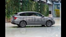 Fiat Tipo Station Wagon, il rendering