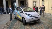 Blue Torino, il car sharing elettrico di Bollorè