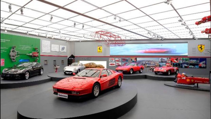 """Inaugurata la mostra """"Mito Ferrari"""" all'Italian Center dello Shanghai Expo Park"""