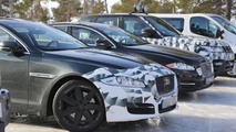 2015 Jaguar XJ spy photo