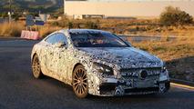 2015 Mercedes Benz S63 AMG Coupe prototype spy photo