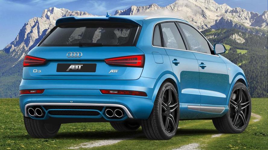 Audi Q3 gets styling & performance tweaks from ABT Sportsline
