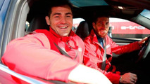 Real Madrid players get their new Audis