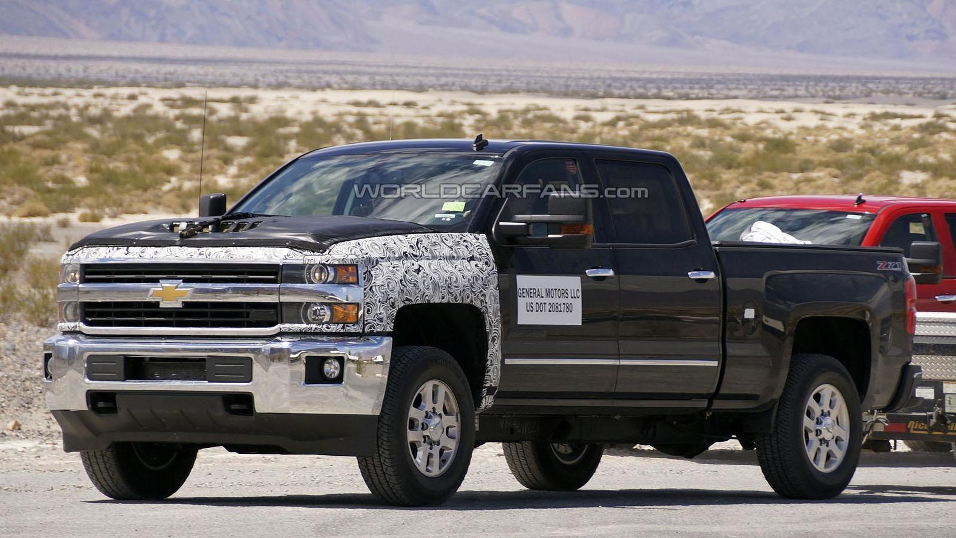 2016 Chevrolet Silverado Hd Spied Could Be Testing A New Sel