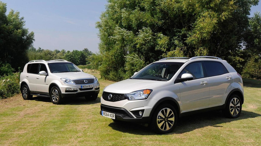SsangYong celebrates 60th anniversary with special editions Korando and Rexton W
