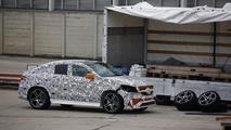 2015 / 2016 Mercedes MLC 63 AMG spy photo