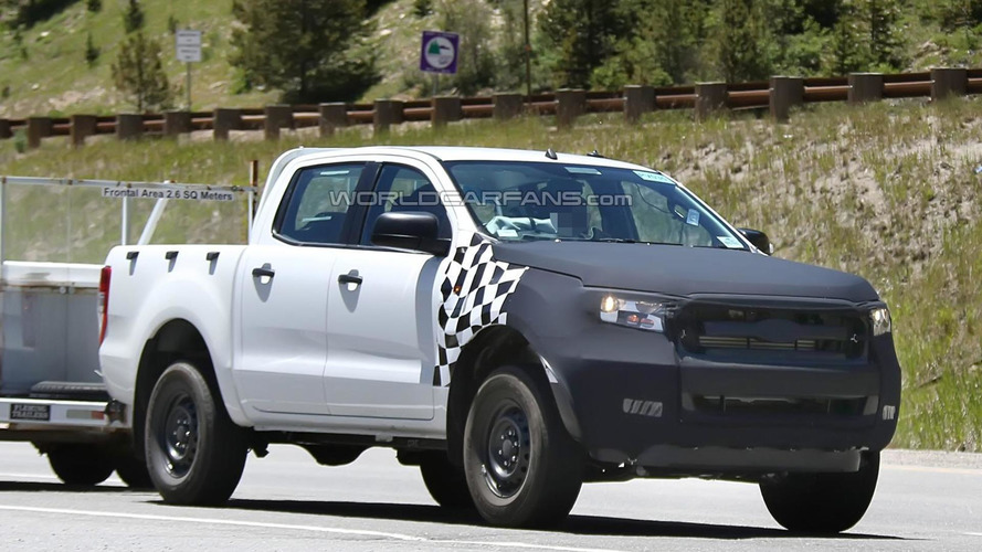2015 Ford Ranger spied testing in the United States