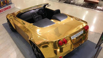 Gold-plated Atom Car