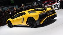 Lamborghini Aventador SV live at 2015 Geneva Motor Show