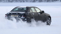 2014 Mercedes C-Class spied undergoing winter testing