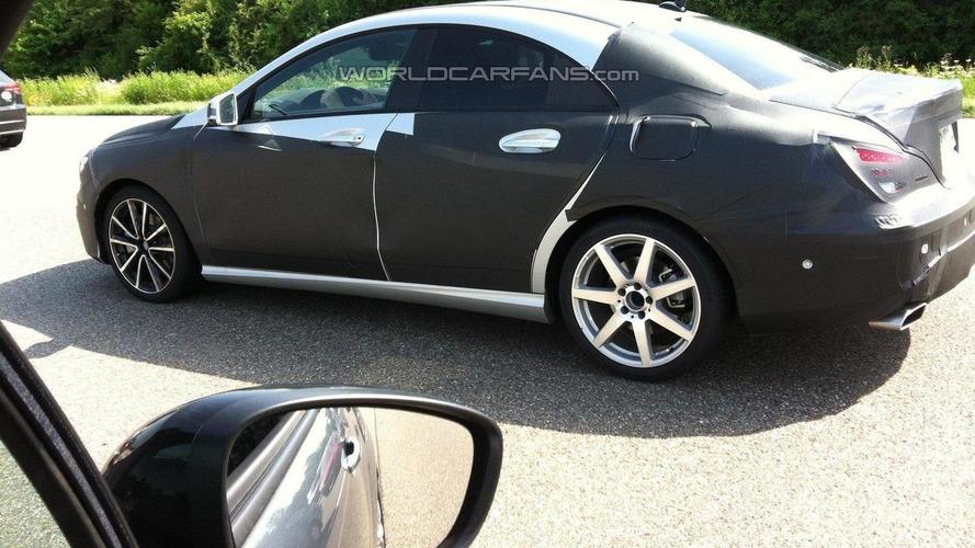 WCF reader spots Mercedes CLA sedan in traffic