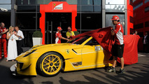 Ferrari 599 XX Evo delivery ceremony 10.9.2012
