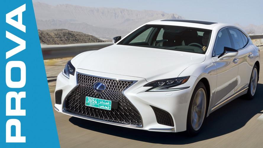 Lexus LS Hybrid, l'orgoglio giapponese