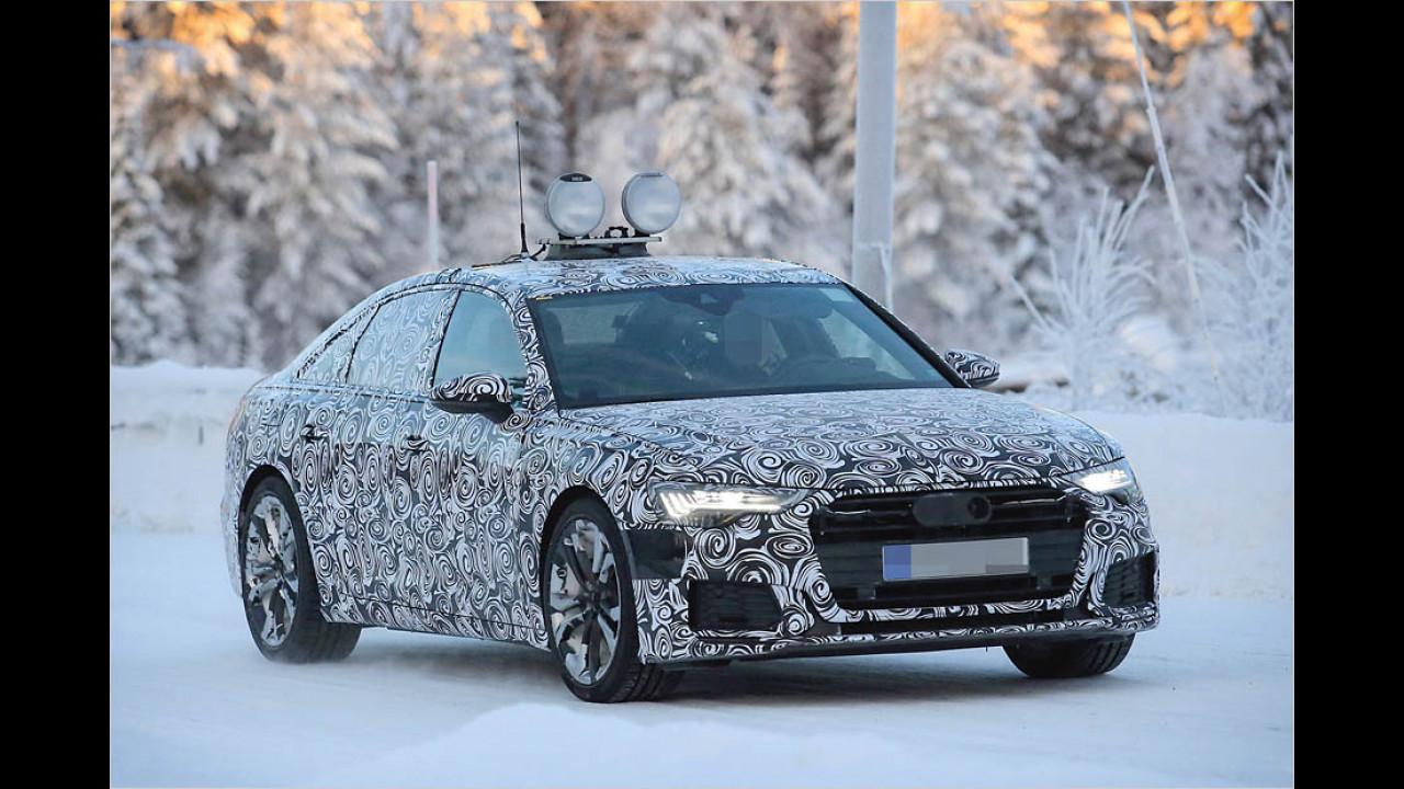 Neuer Audi A6 als Erlkönig