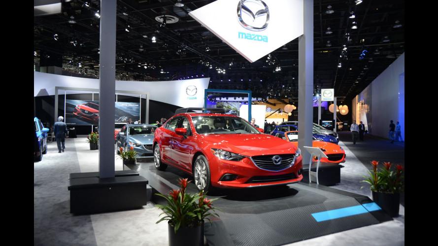 Mazda al Salone di Detroit 2013